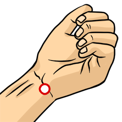 Acupressure Point - Heart 7