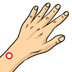 Acupressure Point - Triple Energizer 5